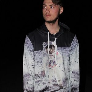 Other - ALL OVER PRINTED SPACE ASTRONAUT HOODIE 🌙
